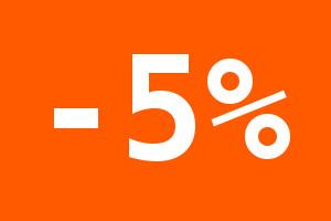 Скидки 5% для Саратова